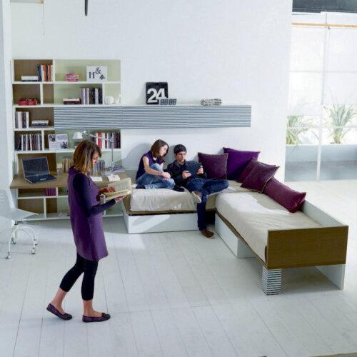Γραφείο-Σύνθεση γραφείου-Βιβλιοθήκη